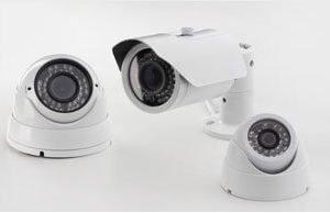 מצלמות אבטחה ומתח נמוך